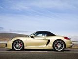 Porsche Boxster S UK-spec (981) 2012 wallpapers