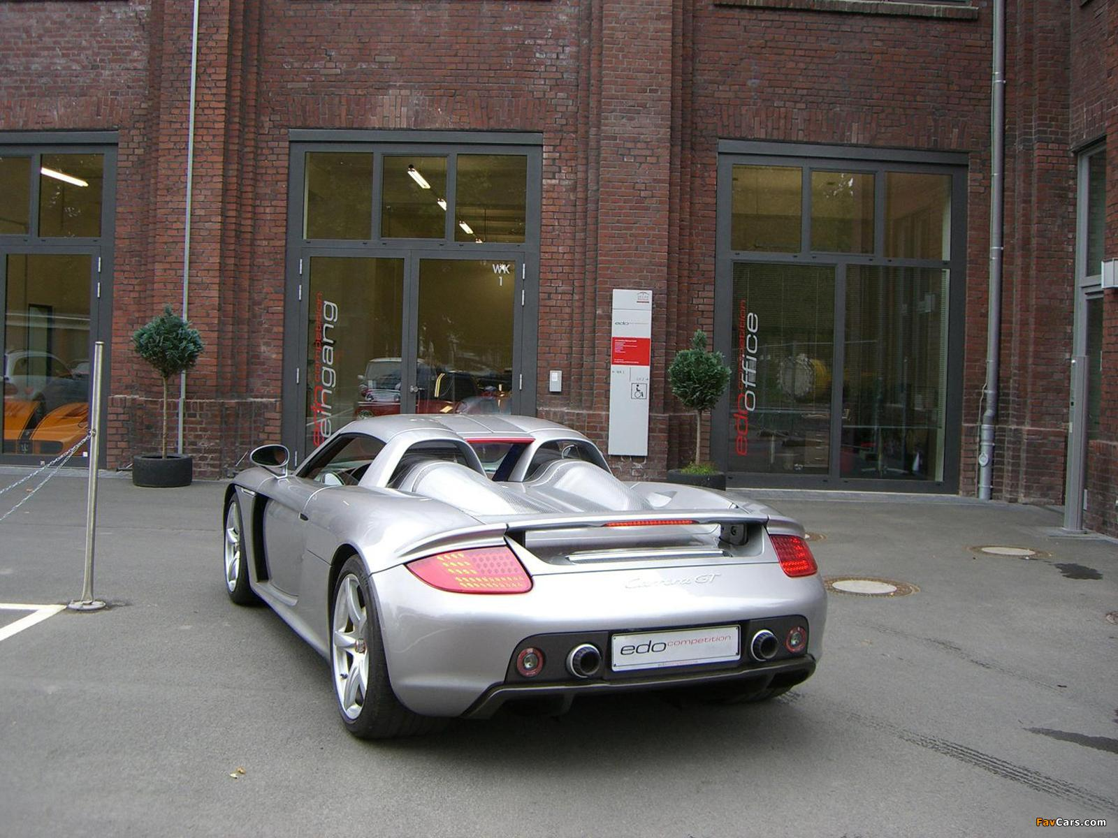 Images of Edo Competition Porsche Carrera GT 2007 (1600 x 1200)