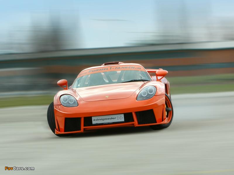 Pictures of Koenigseder Porsche Carrera GT 2009 (800 x 600)