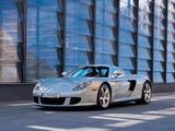 Porsche Carrera GT US-spec (980) 2003–06 wallpapers