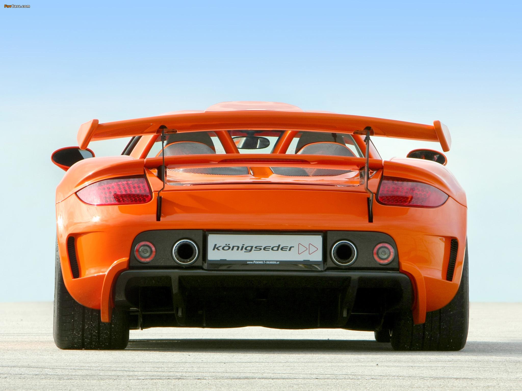 Koenigseder Porsche Carrera GT 2009 photos (2048 x 1536)