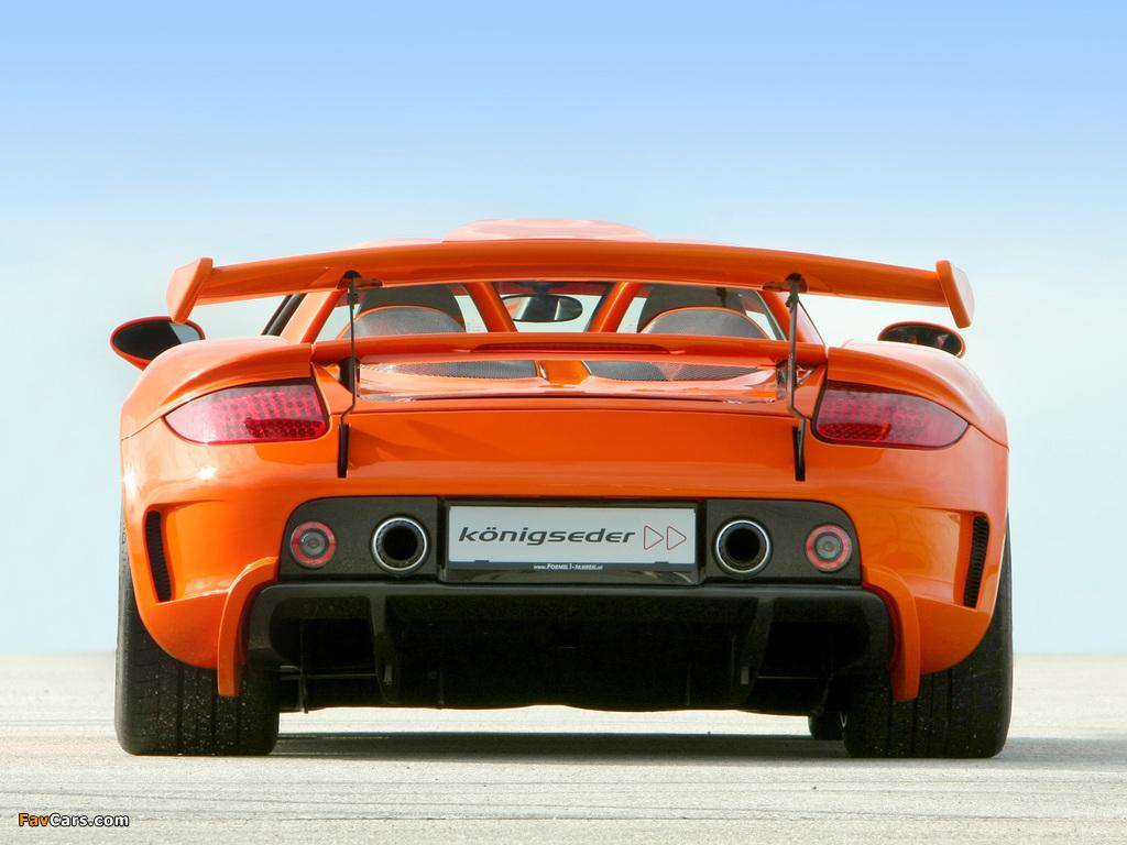Koenigseder Porsche Carrera GT 2009 photos (1024 x 768)