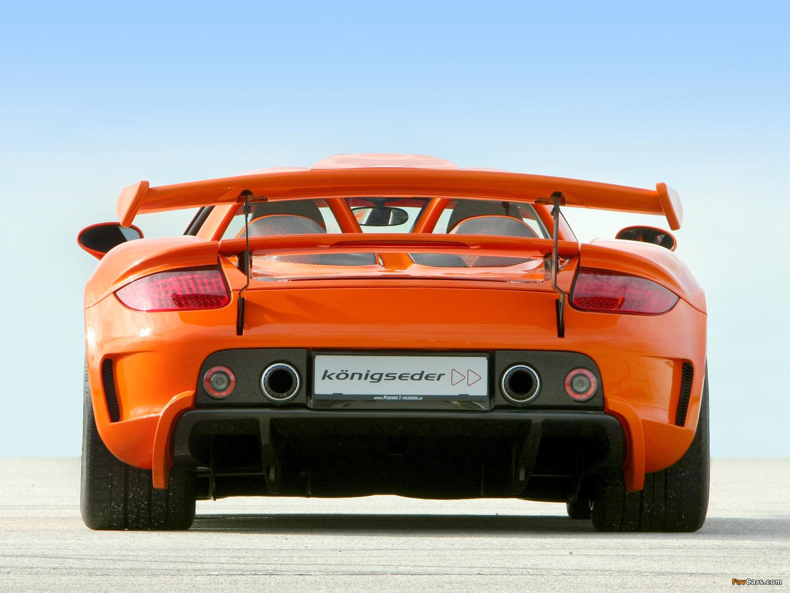 Koenigseder Porsche Carrera GT 2009 photos (1600 x 1200)