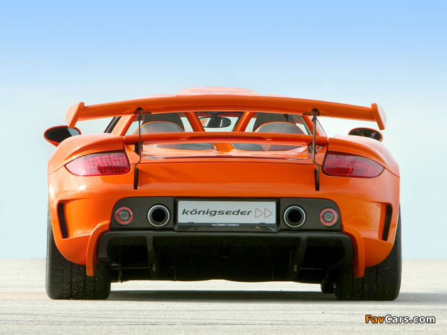 Koenigseder Porsche Carrera GT 2009 photos (640 x 480)