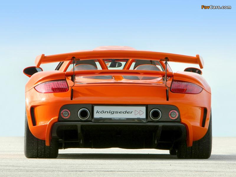 Koenigseder Porsche Carrera GT 2009 photos (800 x 600)