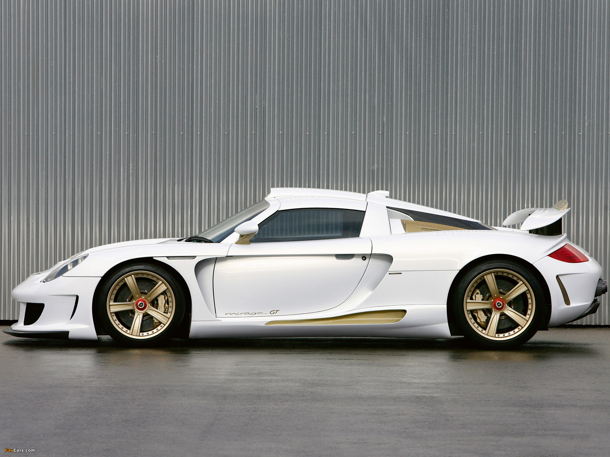 Gemballa Mirage Gt >> Gemballa Mirage Gt Gold Edition 2009 Wallpapers 2048x1536