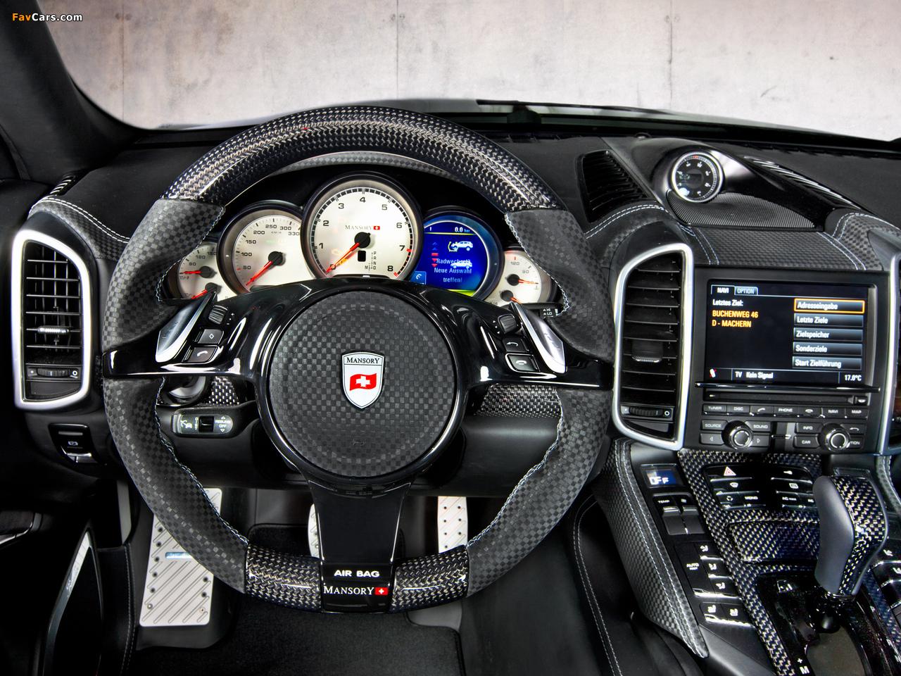 Images of Mansory Porsche Cayenne (958) 2011 (1280 x 960)