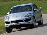 Porsche Cayenne S Diesel (958) 2012 wallpapers
