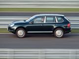 Porsche Cayenne Turbo (955) 2002–07 wallpapers