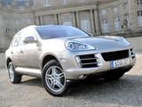 Porsche Cayenne Diesel (957) 2009–10 wallpapers