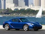 Images of Porsche Cayman S US-spec (987C) 2007–08