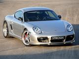 Images of Strosek Porsche Cayman (987C) 2007–08
