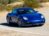 Porsche Cayman S US-spec (987C) 2007–08 pictures