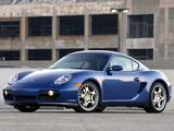 Porsche Cayman S US-spec (987C) 2007–08 wallpapers