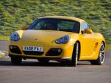 Porsche Cayman UK-spec (987C) 2009–12 images