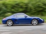 Porsche Cayman UK-spec (987C) 2009–12 pictures