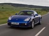 Porsche Cayman UK-spec (987C) 2009–12 wallpapers
