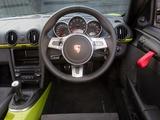 Porsche Cayman R UK-spec (987C) 2010 images