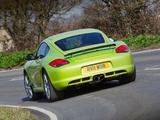 Porsche Cayman R UK-spec (987C) 2010 wallpapers