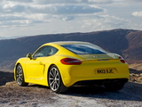 Porsche Cayman S UK-spec (981C) 2013 images