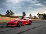 Porsche Cayman GT4 US-spec (981C) 2015 photos