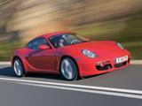 Porsche Cayman S (987C) 2006–08 wallpapers