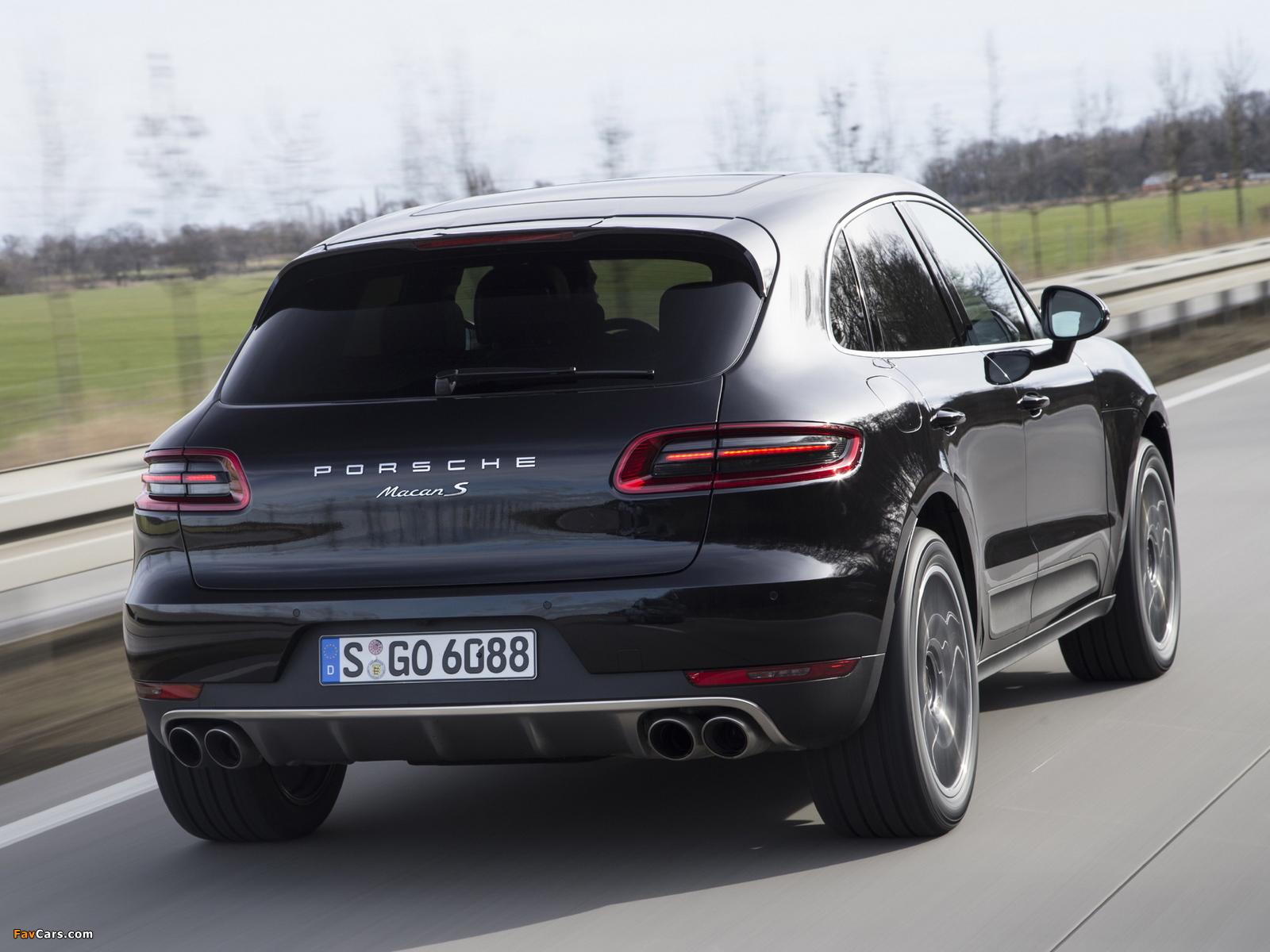 Images of Porsche Macan S (95B) 2014 (1600 x 1200)