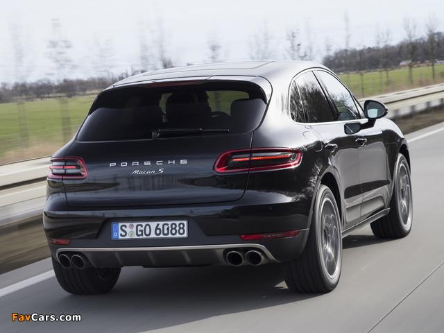 Images of Porsche Macan S (95B) 2014 (640 x 480)