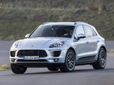 Pictures of Porsche Macan S (95B) 2014