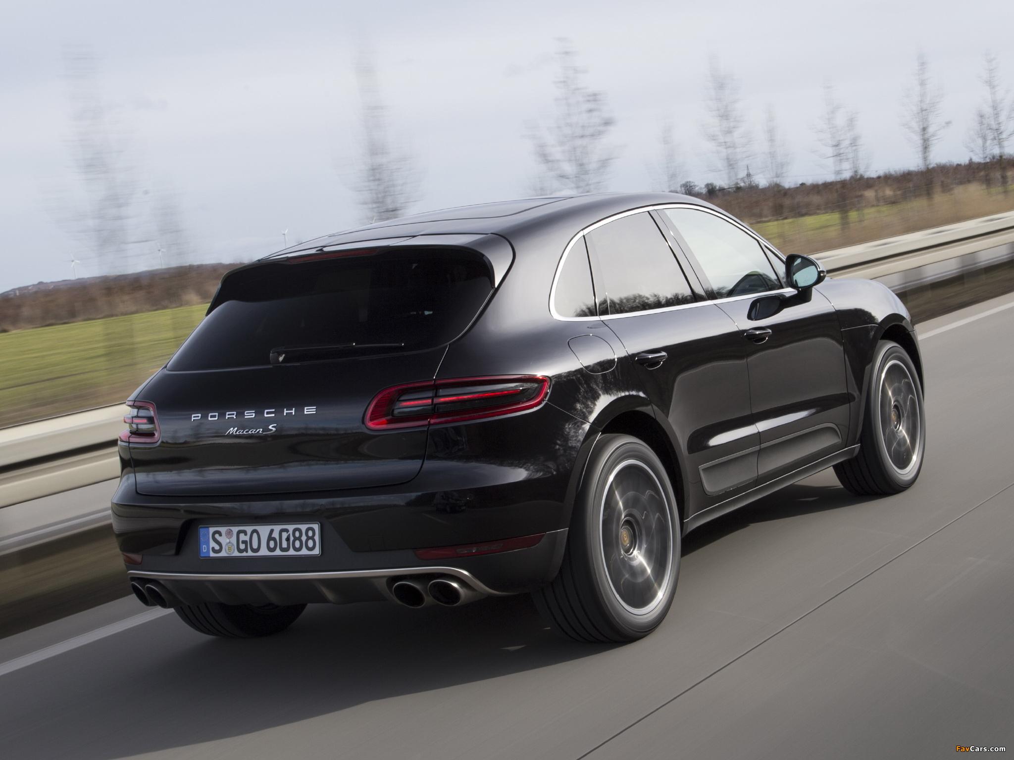 Porsche Macan S (95B) 2014 pictures (2048 x 1536)