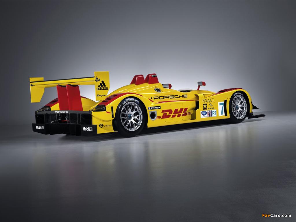 Pictures of Porsche RS Spyder 2008 (1024 x 768)