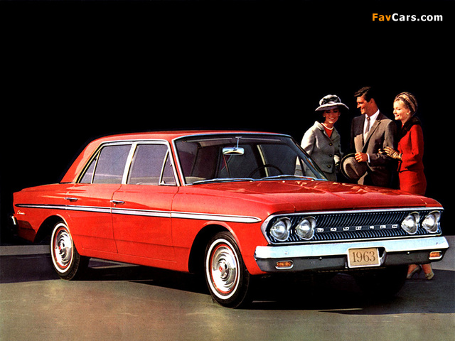 Rambler Classic 770 4-door Sedan 1963 images (640 x 480)