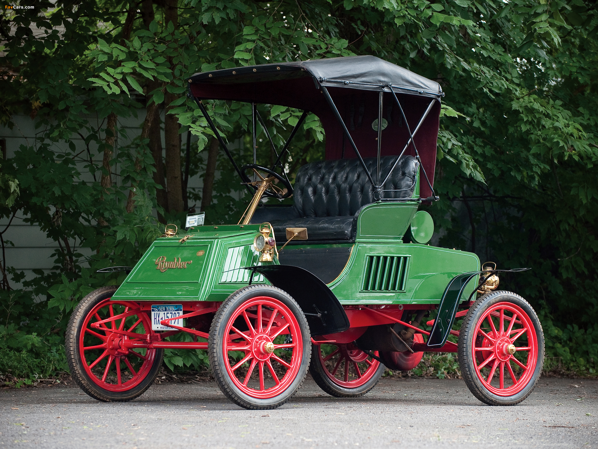 Images of Rambler Model E Runabout 1903 (2048 x 1536)