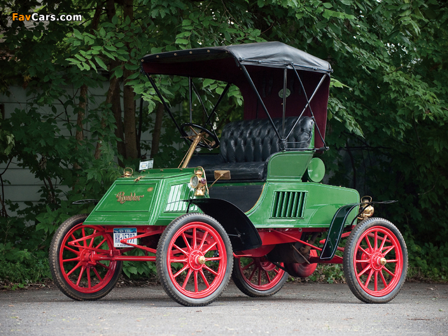 Images of Rambler Model E Runabout 1903 (640 x 480)