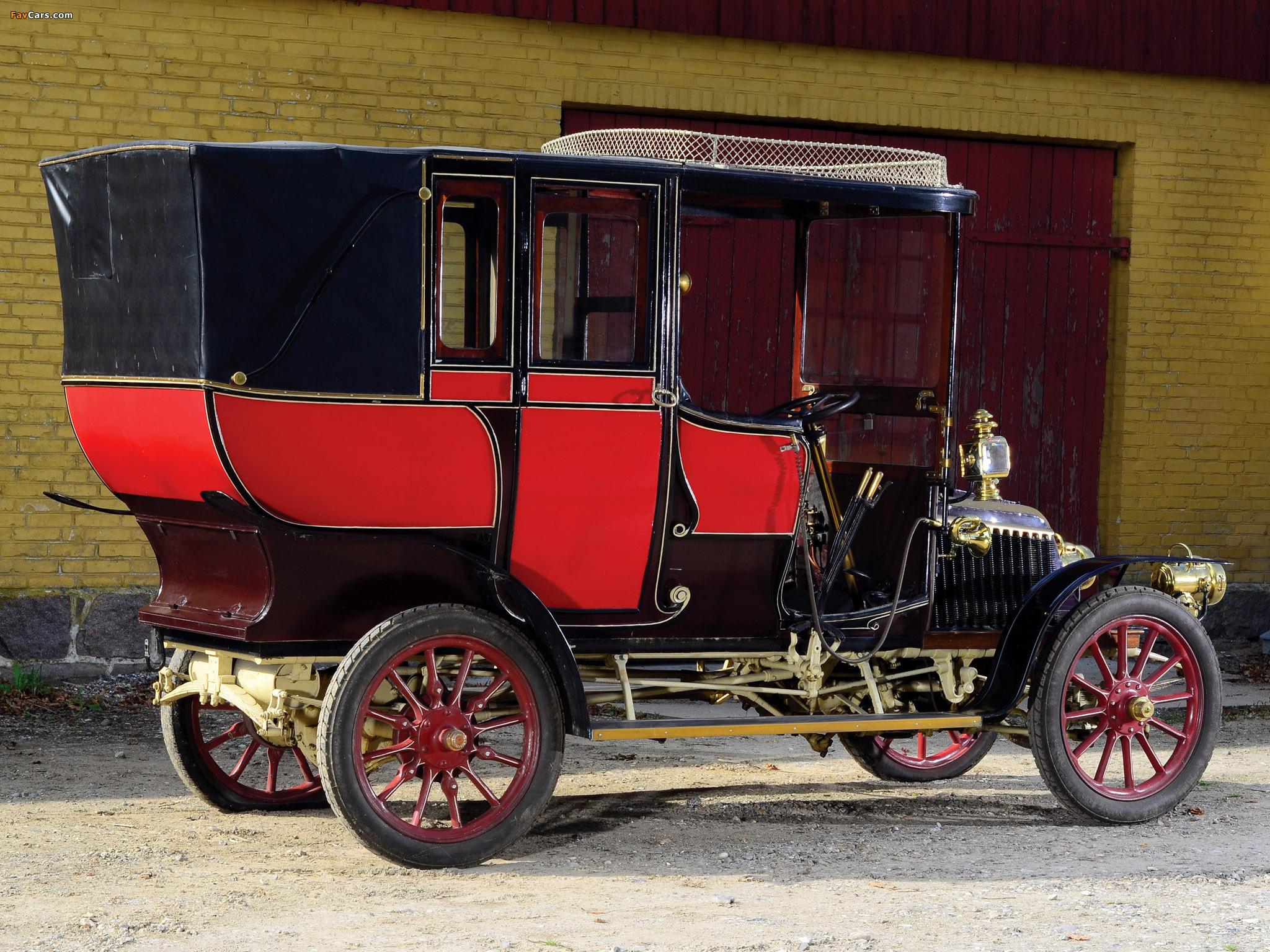 Renault 10 CV Limousine 1903 pictures (2048 x 1536)