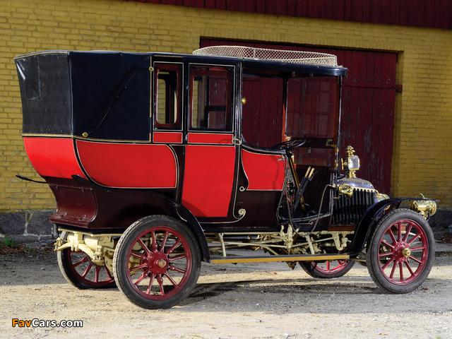 Renault 10 CV Limousine 1903 pictures (640 x 480)