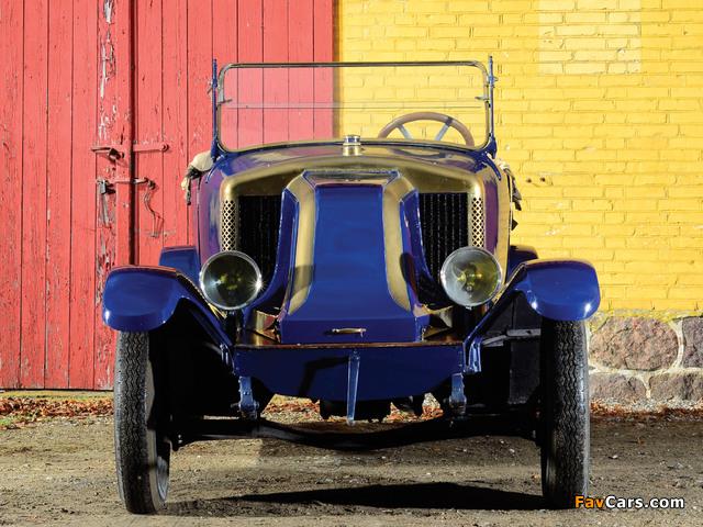 Renault 10 CV Tourer 1915 photos (640 x 480)