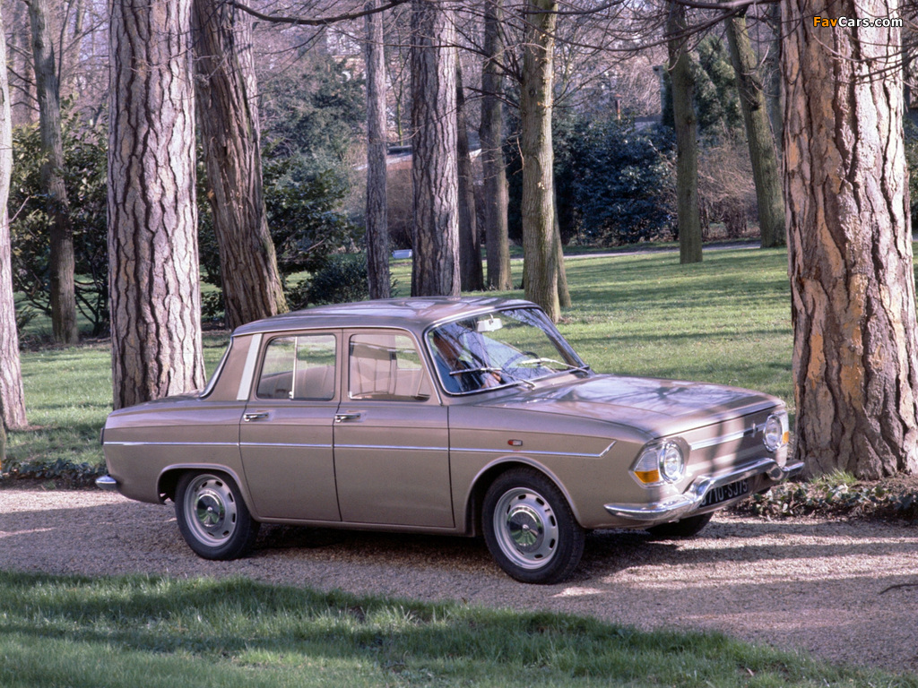 Pictures of Renault 10 1962–71 (1024 x 768)