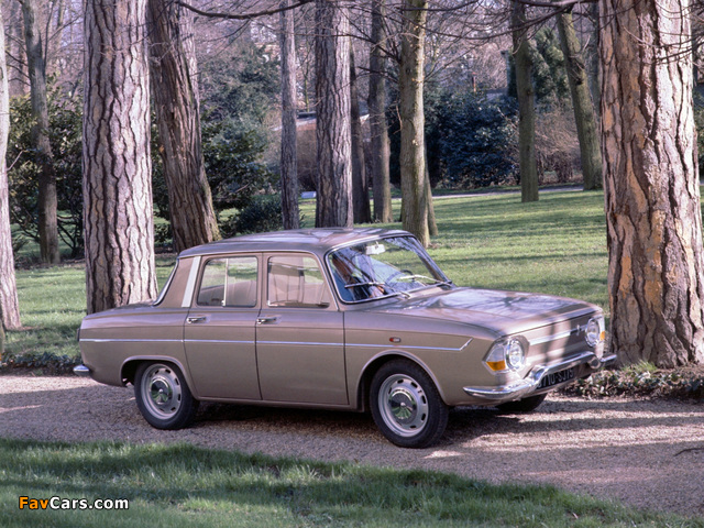 Pictures of Renault 10 1962–71 (640 x 480)