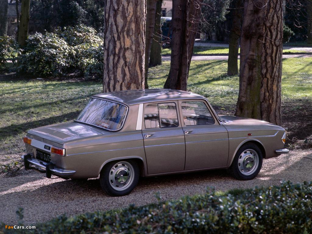Renault 10 1962–71 wallpapers (1024 x 768)