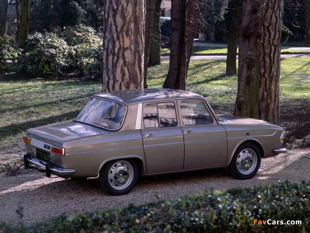 Renault 10 1962–71 wallpapers (640 x 480)