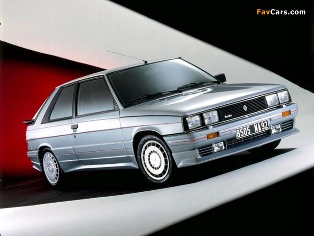 Zender Renault 11 Turbo 1985–86 wallpapers (640 x 480)