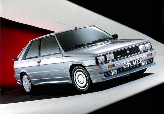 Zender Renault 11 Turbo 198586 Wallpapers