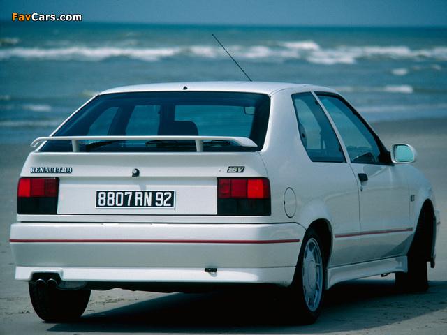 Photos of Renault 19 16V 3-door 1988–92 (640 x 480)