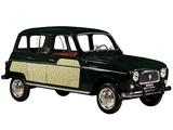 Pictures of Renault 4 La Parisienne 1963–67