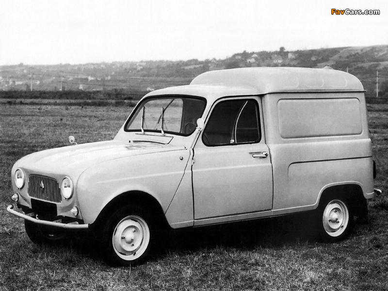 Renault 4 Fourgonnette 1961–67 images (800 x 600)