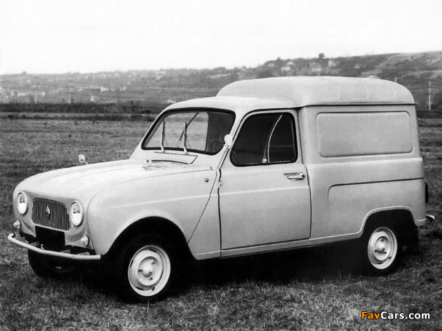 Renault 4 Fourgonnette 1961–67 images (640 x 480)