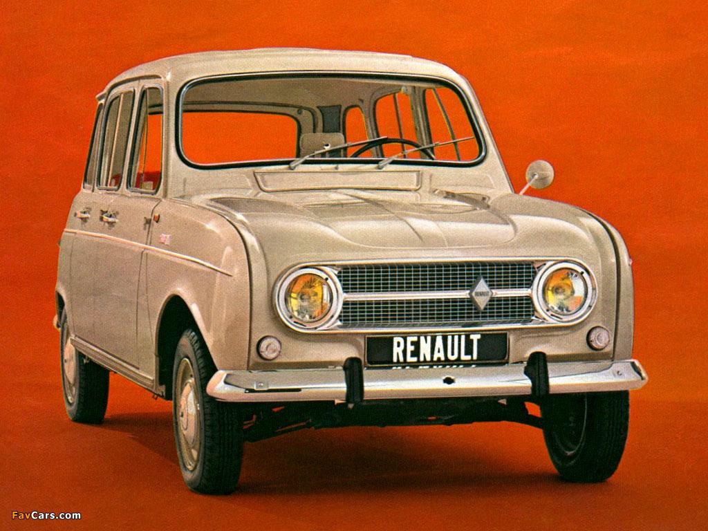 Resultado de imagen de renault 4 1967