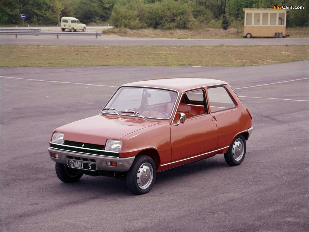 Photos of Renault 5 1972–85 (1024 x 768)