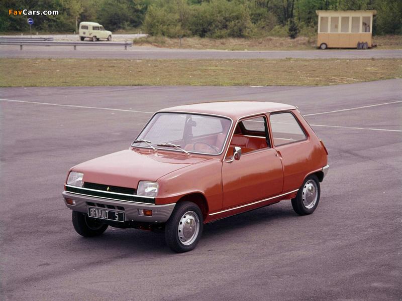Photos of Renault 5 1972–85 (800 x 600)